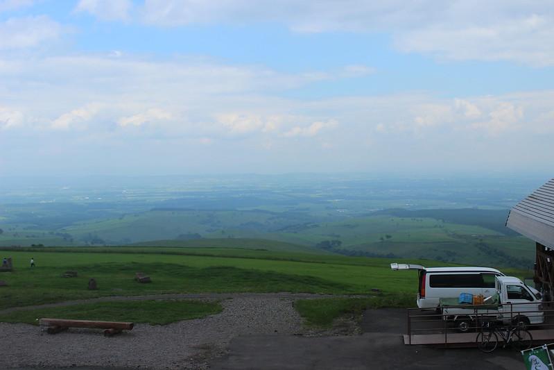 ナイタイ高原からの景色