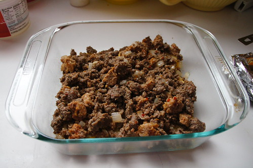 Squash-Sausage Casserole (7)