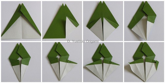 Totoro Origami Step 9-16