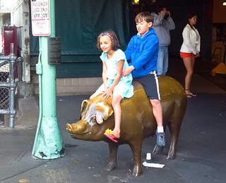 Riding the Pig