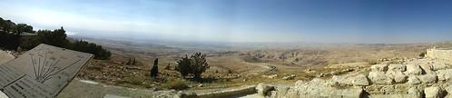 Mount nebo-- overlooking Israel