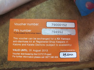 Kit Yamoyo Voucher with PIN number revealed
