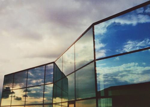 無料写真素材, 建築物・町並み, 空, 反射・鏡像, 風景  イギリス