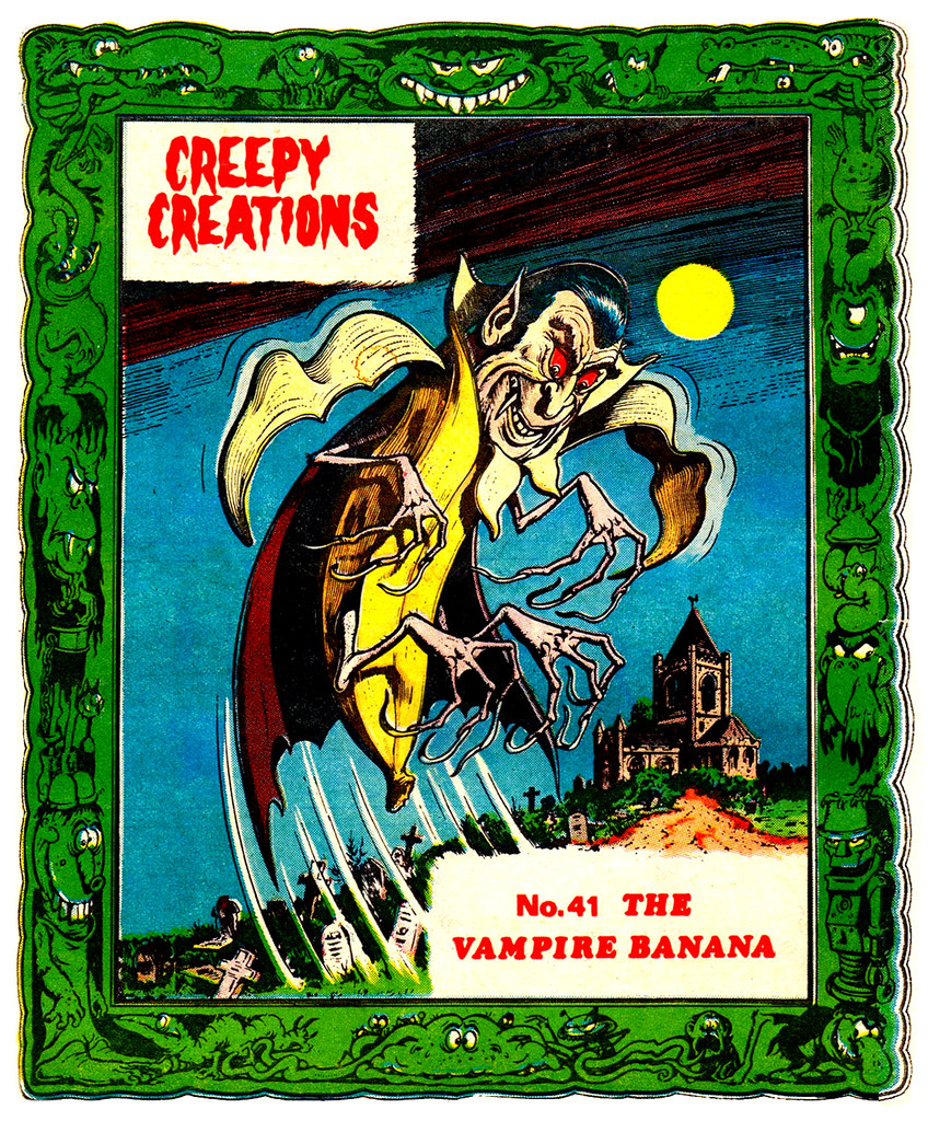 Creepy Creations No.41 - The Vampire Banana