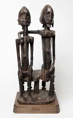 Seated Couple, late 19th–early 20th century. Dogon peoples, Mali. Wood. Photo: © 2012 The Barnes Foundation