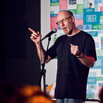 Richard Wiseman at Unbound | Richard Wiseman shows the Unbound audience some tricks