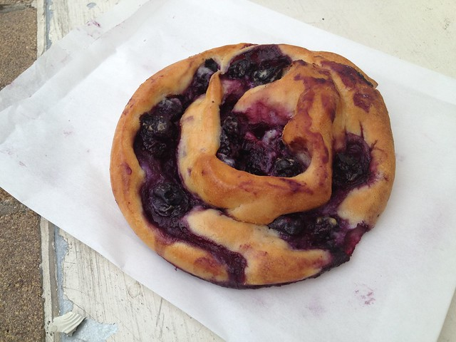 Blueberry snail - Arizmendi Bakery