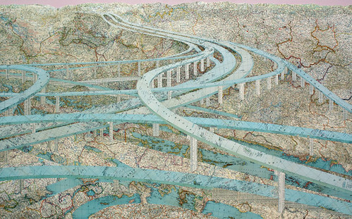 Matthew-Cusick_202, Many Rivers, 2009