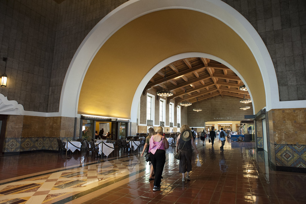 Los Angeles Вокзал Union Station