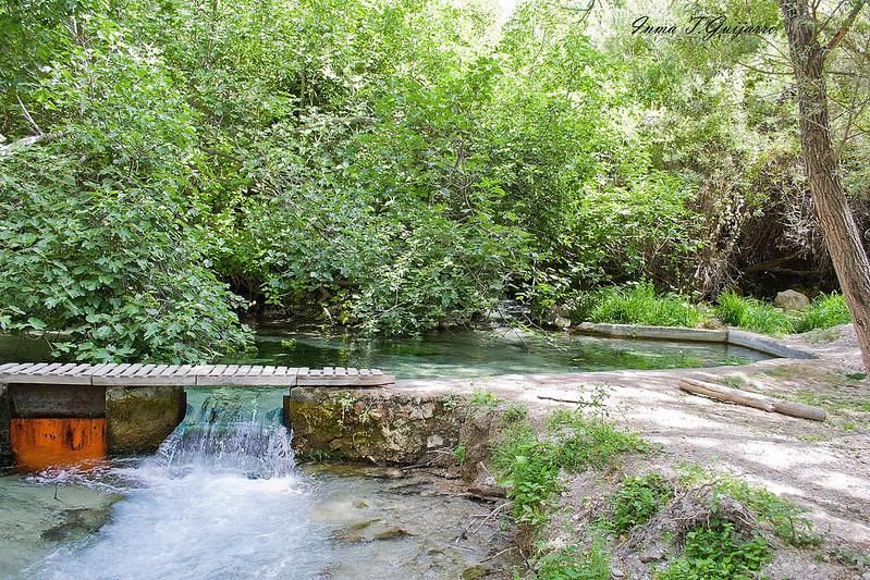 Peralta: Remanso y bajada de agua