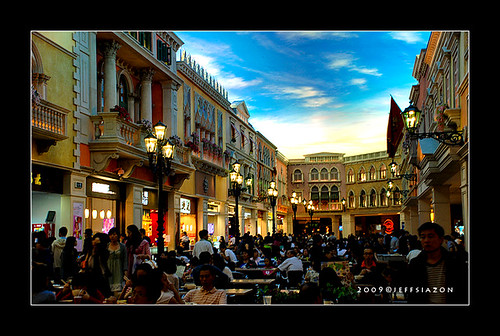 food court in Venetian Macau