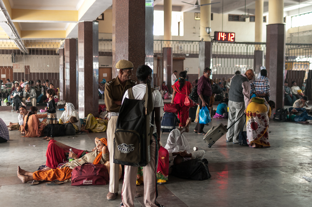Train station in Haridwar