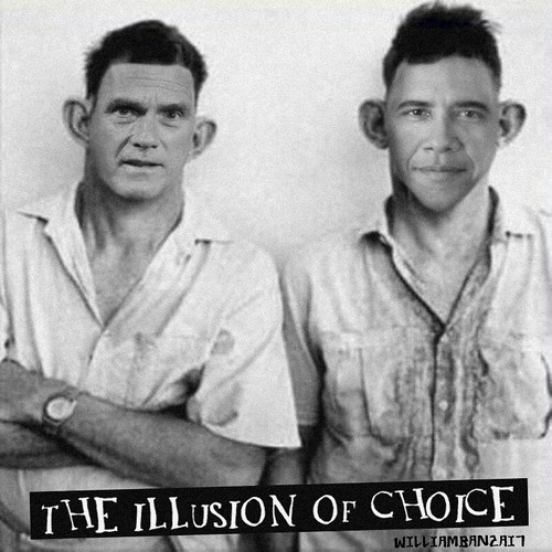 THE ILLUSION OF CHOICE2 by Colonel Flick