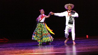 Presentación del grupo folklórico de Oaxaca, Guelaguetza