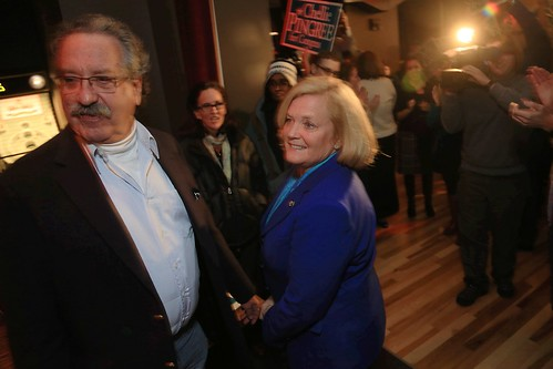 Chellie Pingree and Donald Sussman