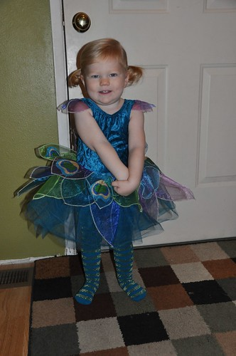 Ready for ballet on Halloween
