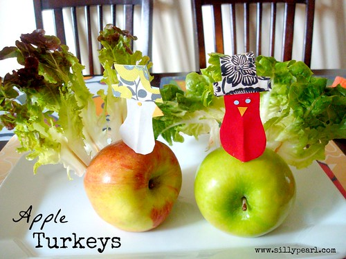 Apple Turkeys - Multiples in the Kitchen