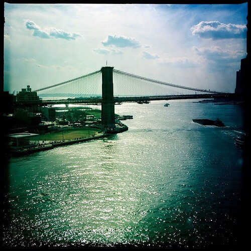 Brooklyn Bridge from the Manhattan Bridge