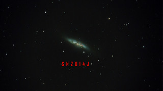 The Cigar Galaxy SN