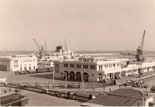 Alger - Gare maritime (1955)