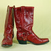 Size 7.5 Red Code West Cowgirl Boots