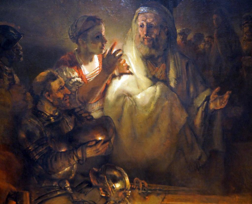 2013-08-07 08-09 Amsterdam 178 Rijksmuseum, Rembrandt, The denial of St.Peter