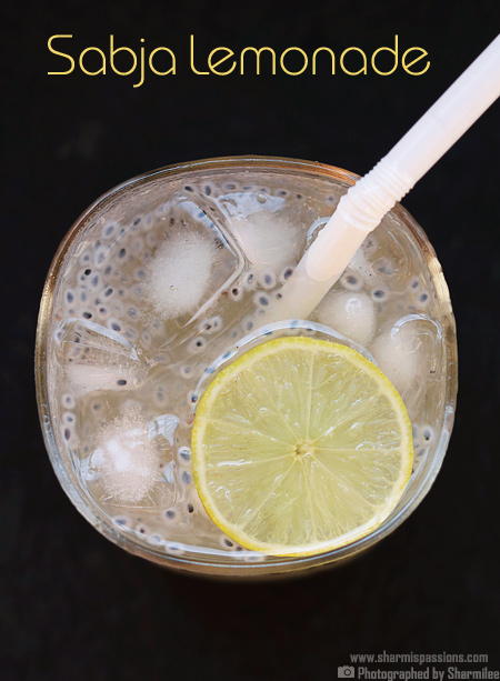 Sweet Basil Seeds Lemonade Recipe