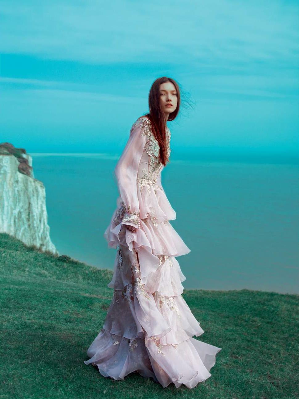 Yumi Lambert by Erik Madigan Heck for Harper's Bazaar Uk June 2016
