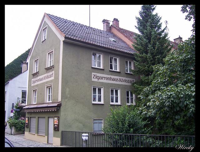 Que ver en Augsburgo en un día - Casa de Mozart
