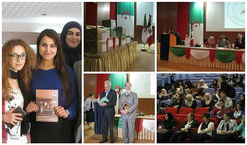 Donación de libros a la Universidad Argel 2