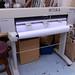 HP large format inkjet printer