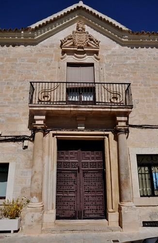 Corral de Almaguer (Toledo). Casa Higueras. Portada