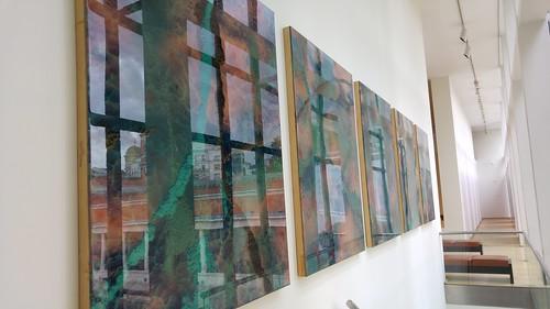 El vientre del observador, obra de Darío Urzay en el Museo de Bellas Artes de Bilbao