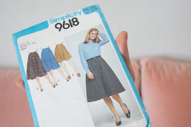 Simplicity 9618 skirt