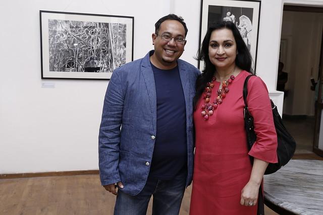 Kounteya Sinha and Madhu Neotia