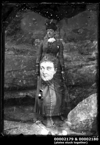 Portrait of two women, c 1900