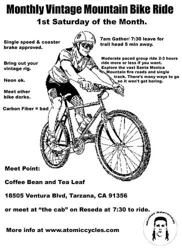 vintage ride flyer