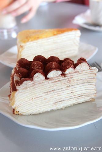 Tiramisu Mille Crêpe, Nadeje Cake House