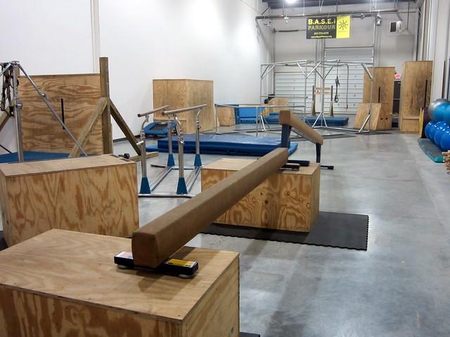 独立式可移动的跑酷钢管系统