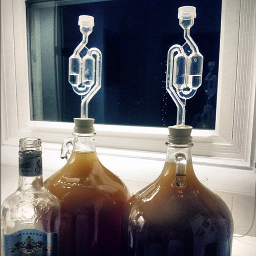 We don't have a good feeling about this, but the late-night batch on dandelion wine is on its way.