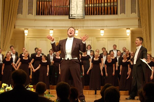 University of Delaware Chorale's encore performance after winning the 2007 Tallinn International Choir Festival in Estonia