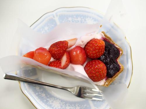 キルフェボンのタルト -  ルガール クリームチーズムースのタルト ~桜風味~
