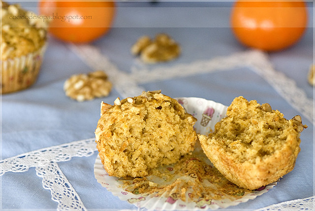 Muffins de zanahoria_mandarina_nueces_4