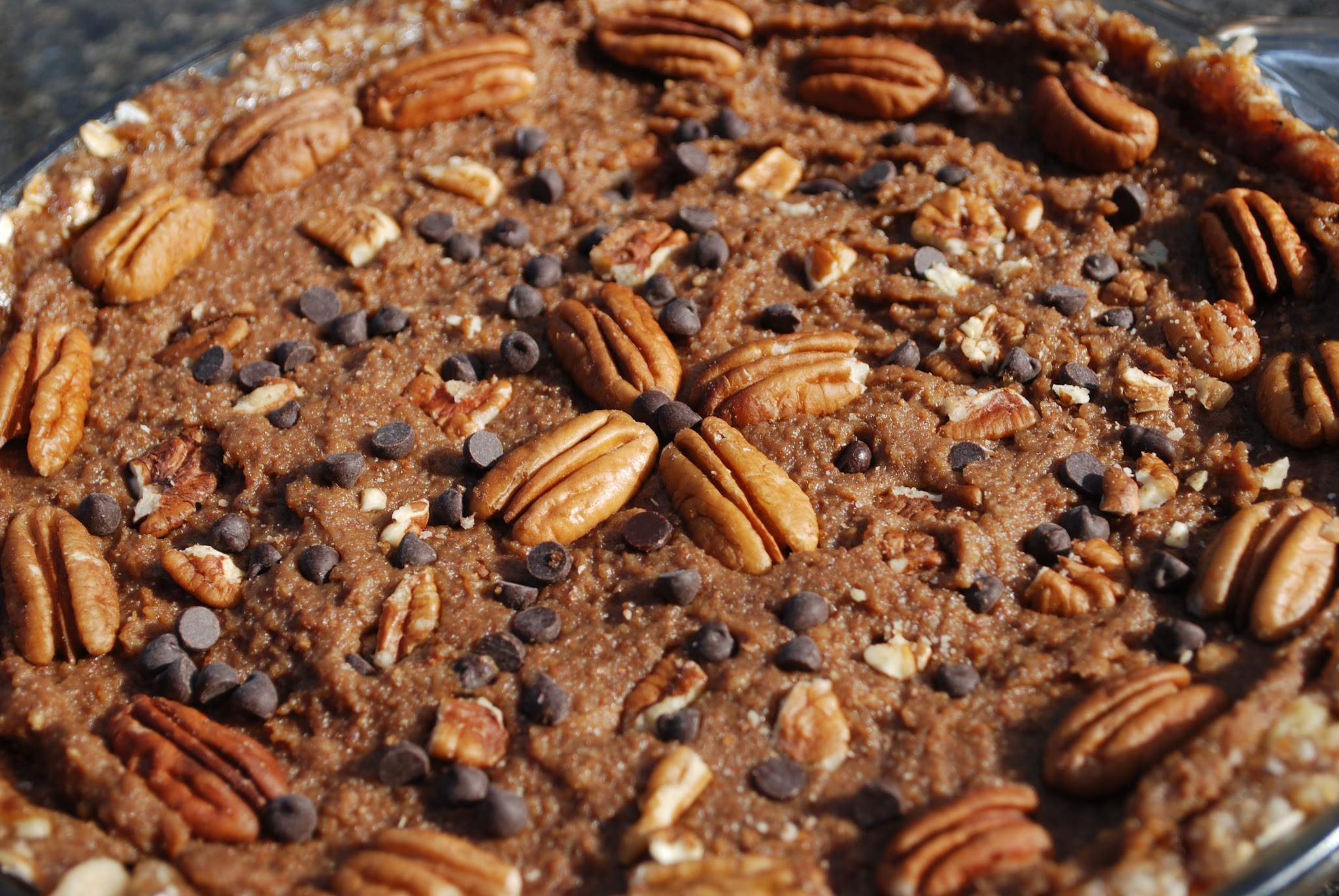 No Bake Vegan Pecan Pie