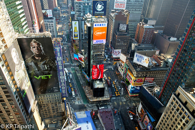 Times Square - From the Top