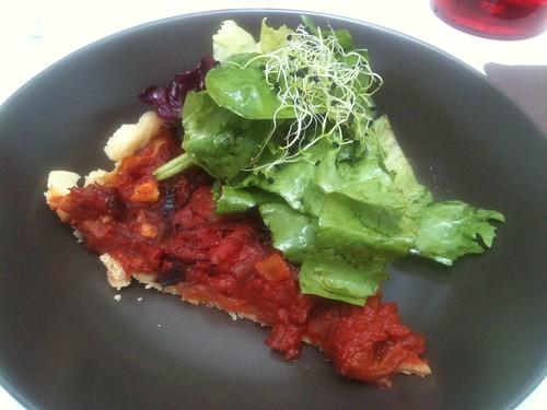 Helmut Newcake: Tarte à la tomate