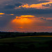 Sunset over fields by Bill_Mc