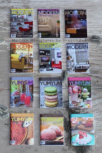 Dragondee Mini Magazines