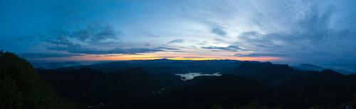 panorama sunrise srilanka ceylon adamspeak 日出 全景 sripada 斯里兰卡 锡兰 亚当峰