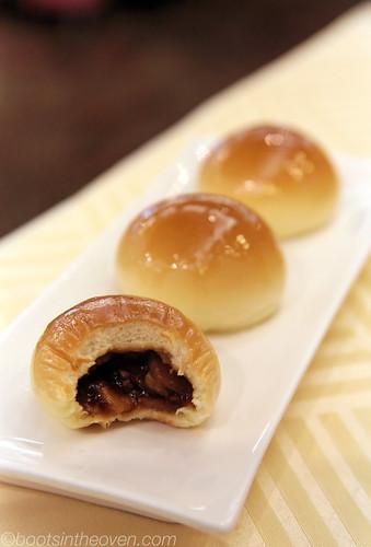 Logan's favorite - baked pork buns